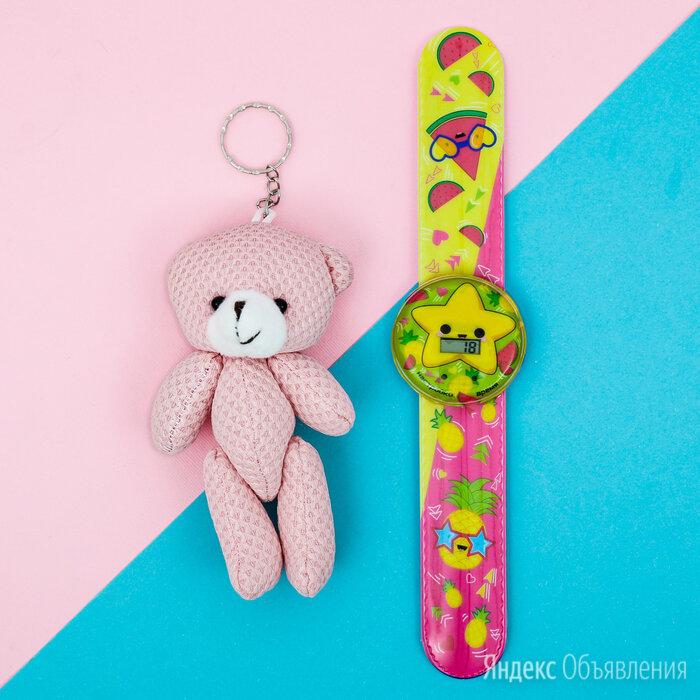 Набор «Фрукты», часы наручные, игрушка 20,8 х 25 см по цене 195₽ - Наручные часы, фото 0