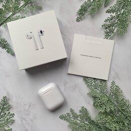 Наушники и Bluetooth-гарнитуры - Apple airpods 2 оригинал, 0