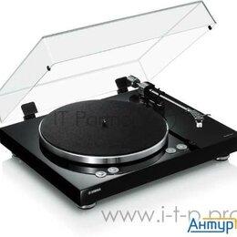 Проигрыватели виниловых дисков - Проигрыватель винила Yamaha Tt N503 частично автоматический черный, 0