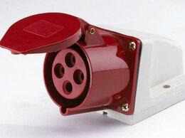 Электроустановочные изделия - Розетка ОП 32А 380В 3P+E тип. роз. 124 IP44 SchE…, 0