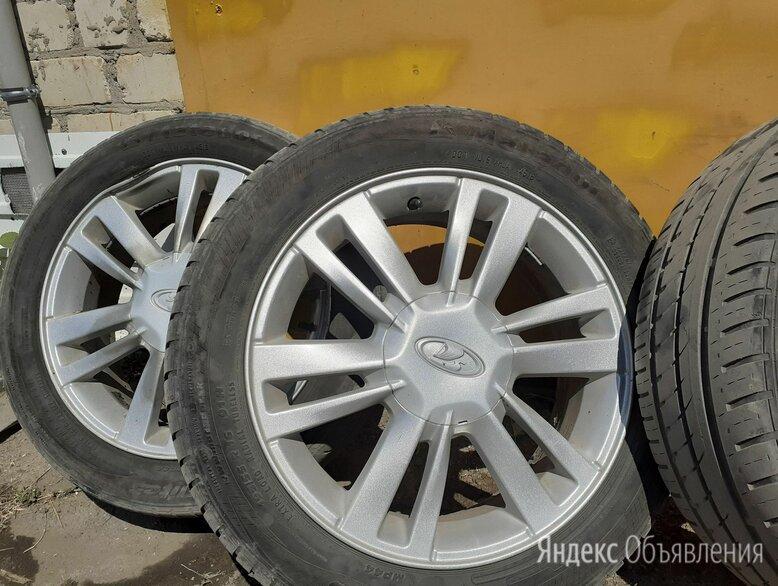 Колеса в сборе 195/55 R16 по цене 2000₽ - Шины, диски и комплектующие, фото 0