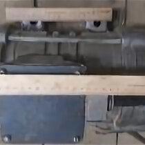 Вибротрамбовочное оборудование - Вибратор площадочный ИВ-98А-2 ту 22-4666-80 50гц 380в 1,9а 2800 об/мин, 0