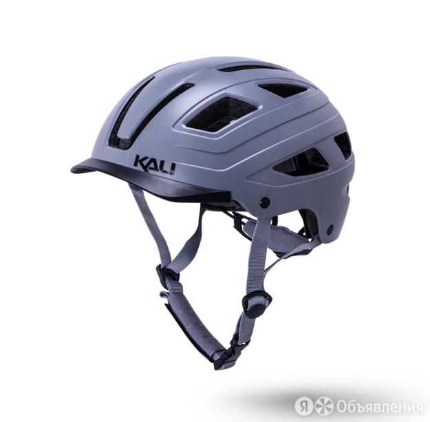 Велошлем KALI CRUZ, URBAN/CITY/MTB, с фонариком, серый, 2021 (Размер: L/XL (58 по цене 4327₽ - Аксессуары и запчасти, фото 0