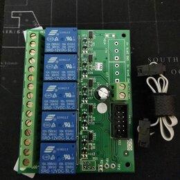 Системы Умный дом - Плата силовых реле для сигнализации контакт GSM, 0