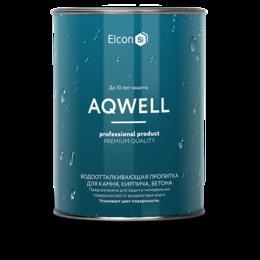 Пропитки - Пропитка с эффектом мокрого камня Elcon Aqwell   0,9 л, 0