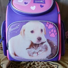 Рюкзаки, ранцы, сумки - Рюкзаки для девочек в школу. , 0