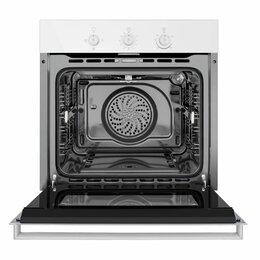 Духовые шкафы - Шкаф духовой газовый MAUNFELD MGOG.673W, 0
