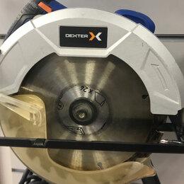 Дисковые пилы - Dexter Power. циркулярная пила Dexter 1300CIS2-185.5, 0