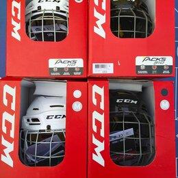 Защита и экипировка - Шлем хоккейный новый, размер М, 0