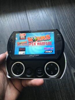 Игровые приставки - Sony PSP Go + игры + бесплатная доставка, 0