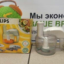Кухонные комбайны и измельчители - Комбайн Philips HR7605, 0