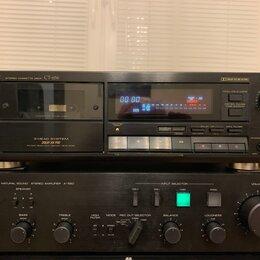 Музыкальные центры,  магнитофоны, магнитолы - Кассетная дека Pioneer CT-656 Japan 220в, 0