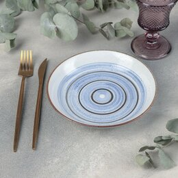 Блюда, салатники и соусники - Салатник 'Бриз', 18x4 см, 0