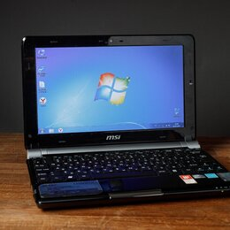 Ноутбуки - Нетбук MSI u160dx, 0
