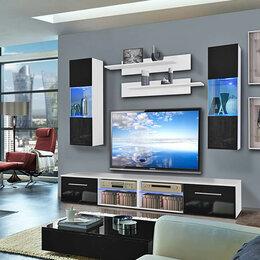 Шкафы, стенки, гарнитуры - Модульная гостиная 11 МДФ, 0