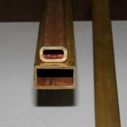 Металлопрокат - Труба медная профильная 5х8х1,5 МОБ ГОСТ 16774-2015, 0