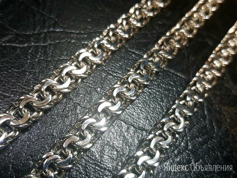 Новая серебряная цепь Бисмарк  по цене 7000₽ - Цепи, фото 0