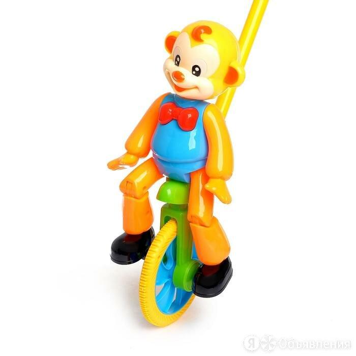 Каталка на палочке 'Цирковая обезьянка', МИКС по цене 467₽ - Игрушечная мебель и бытовая техника, фото 0
