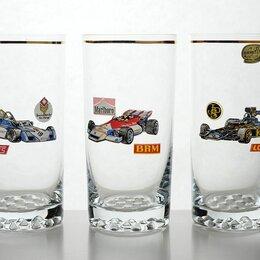 Бокалы и стаканы - Богемские стаканы с машинами, 0