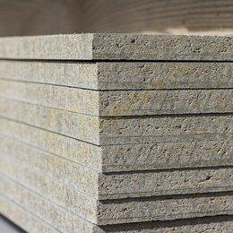 Древесно-плитные материалы - Плита цементно-стружечная ЦСП 3000х1200х20 мм, 0