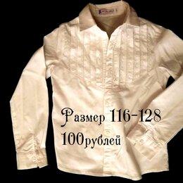 Рубашки и блузы - Блузки школьные для девочек 116-122-128 бу, 0