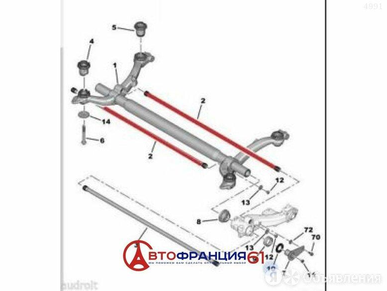 Торсион задн балки   l, 515077 PEUGEOT;CITROEN 206;207;C2 по цене 3000₽ - Подвеска и рулевое управление , фото 0