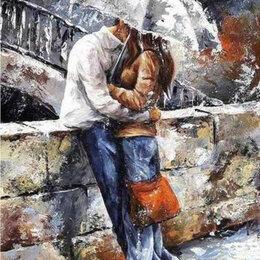 Картины, постеры, гобелены, панно - Двое под зонтом Артикул : GF 927, 0