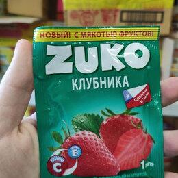 Ингредиенты для приготовления напитков - Растворимый напиток Zuko со вкусом клубники (Чили) 25 гр., 0