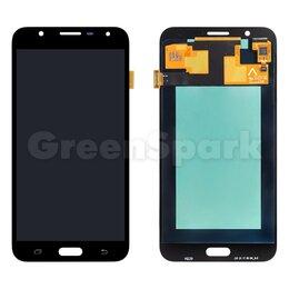 Дисплеи и тачскрины - Дисплей для Samsung J701 Galaxy J7 Neo + тачскрин (черный) (100% LCD), 0