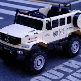 Электромобили - Детский электромобиль полиция, 0