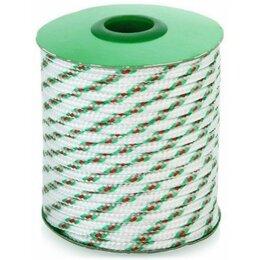 Веревки и шнуры - Шнур полипропиленовый плетеный 4мм 16пр.20м, 0