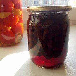 Продукты - Маринованные помидоры, клубничное варенье, 0