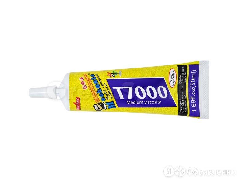Клей/герметик для проклейки тачскринов MECHANIC T7000 (50 мл) (черный) по цене 180₽ - Прочие запасные части, фото 0