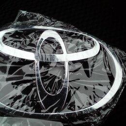 Кузовные запчасти - Шильдик (эмблема) Тойота на кузов авто, 0