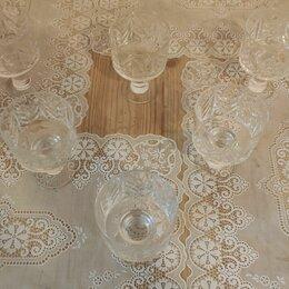 Бокалы и стаканы - Бокалы 6 штук хрусталь, 0