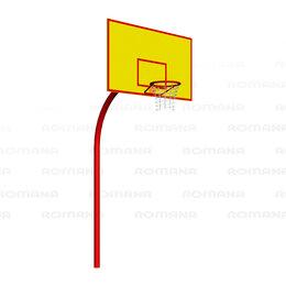 Стойки и кольца - Баскетбольные щиты ROMANA Баскетбольный щит (большой) Romana 203.11.01, 0