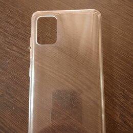 Чехлы - Прозрачный силиконовый чехол на samsung A51, 0