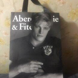 Подарочная упаковка - Бумажный пакет Abercrombie@Fitch из США, 0