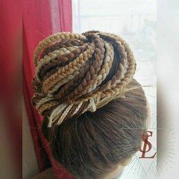 Аксессуары для волос - Афрохвост \ афрокосы на резинке, 0