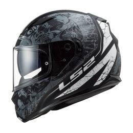Спортивная защита - Шлем FF320 STREAM EVO THRONE Matt Black Titanium, 0