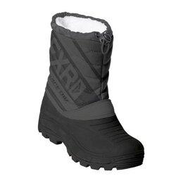 Ботинки - Fxr Ботинки детские FXR Octane, размер 29, чёрный, серый, 0