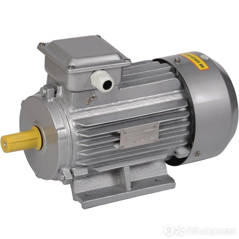 Электродвигатель трёхфазный IEK АИР 80B2 1081 DRIVE, 380 В, 3000 об/мин, 2.2 кВт по цене 16240₽ - Производственно-техническое оборудование, фото 0