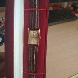 Наручные часы - Золотые часы женские яшма, 0