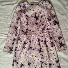 Платья - Платье нарядное принт Цветы Allegoria р-р 40-42, 0
