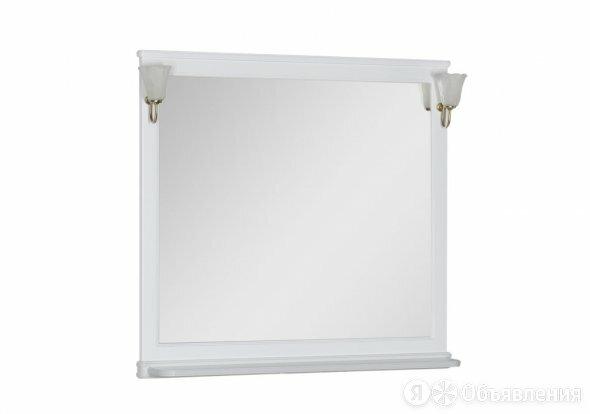 Зеркало Aquanet Валенса 100 белый матовый 180290 по цене 14642₽ - Зеркала, фото 0