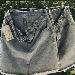 Юбки - Юбки джинсовые 42-48, 0