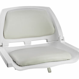 Походная мебель - Кресло складное мягкое TRAVELER, цвет белый/серый, 0