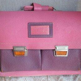 Портфели - Портфель ранец кожаный США, 0