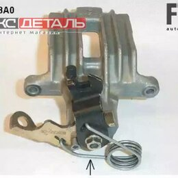 Тормозная система  - FTE AUTOMOTIVE RX389823A0 Суппорт тормозной задн прав Audi A4/A6, VW Passat, ..., 0