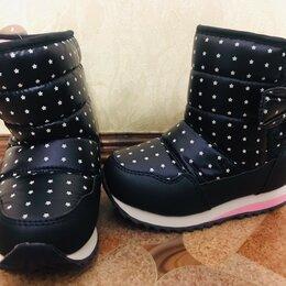 Обувь для малышей - Сапожки детские на девочку новые зимние , 0